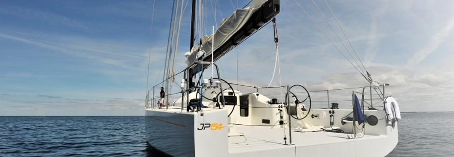 Navigation avec Jean-Pierre Dick à bord du JP54-1