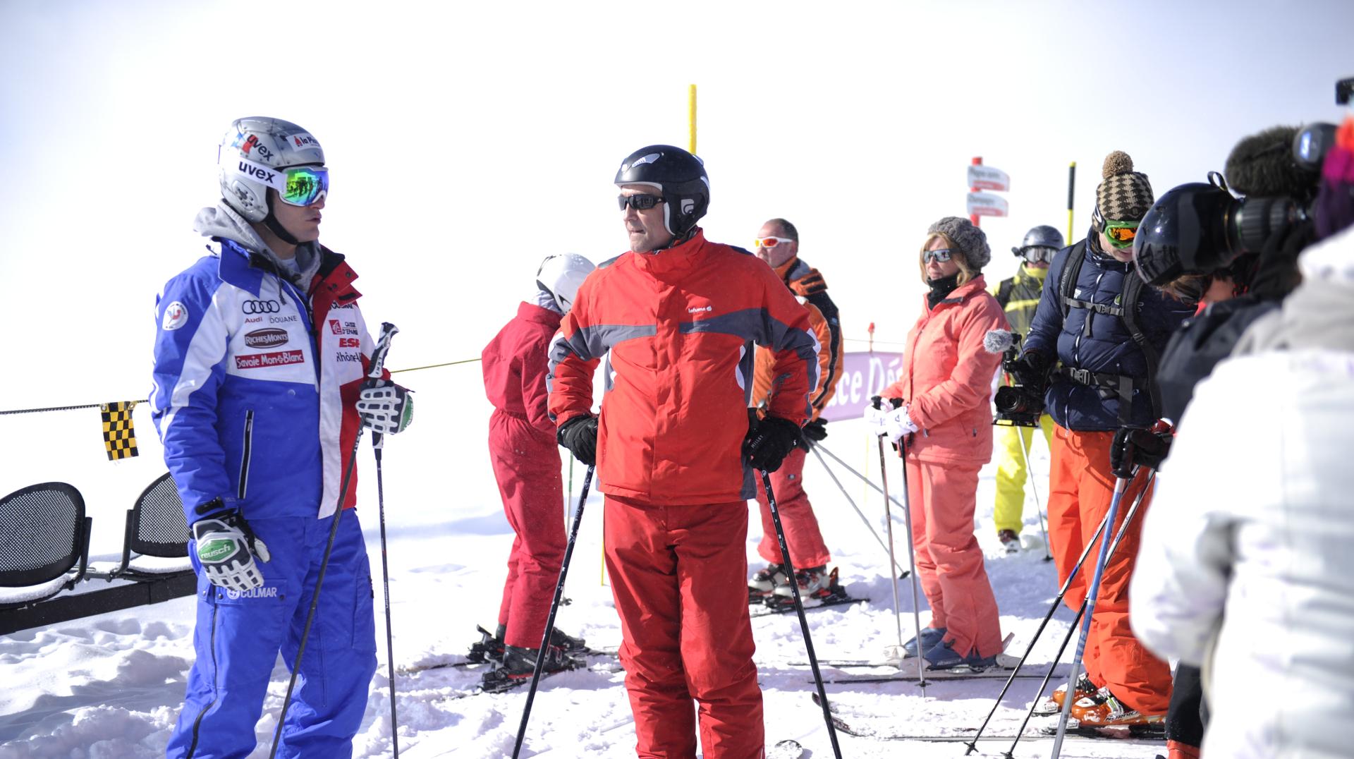 Apprentissage du slalom-1