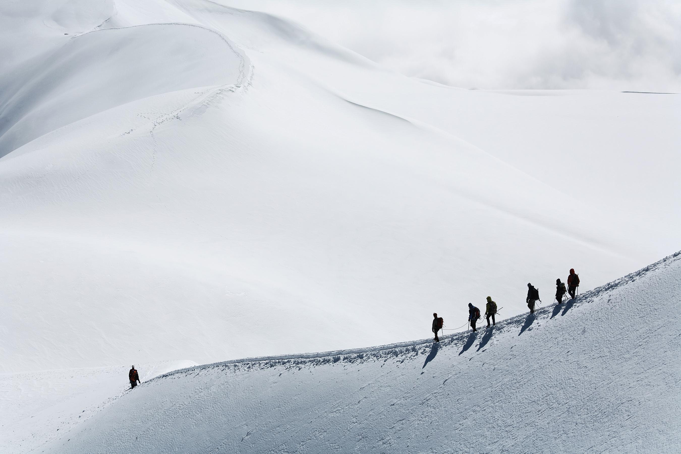 Ascension du Mont Blanc en un jour-1