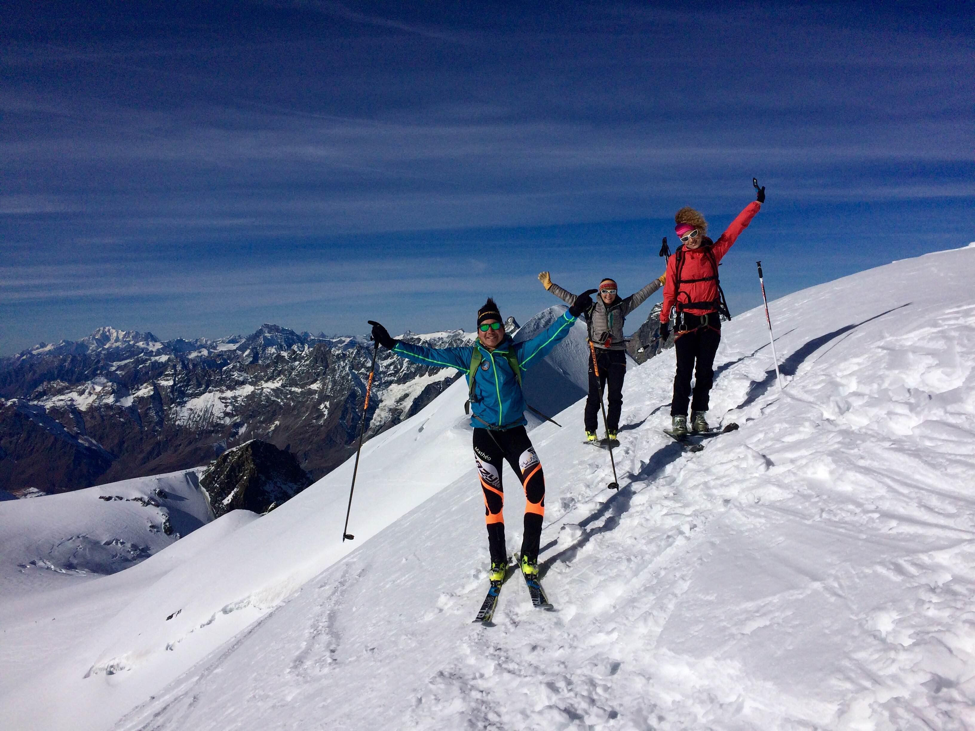 Journée ski de randonnée avec Mathéo Jacquemoud-3