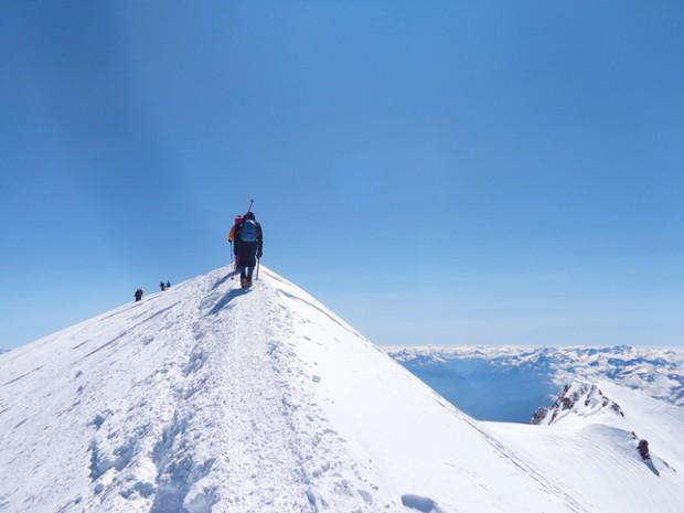 stage 5 jours ascension du mont blanc avec serge kazaden
