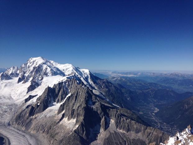 ascension du mont blanc en 4 jours avec michel kazaden