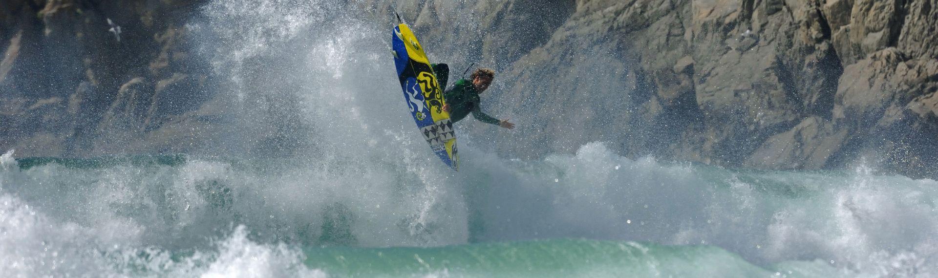 Thomas Joncour, surfeur pro, ambassadeur Kazaden