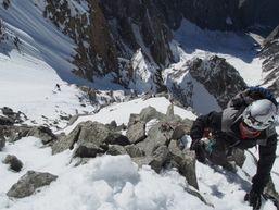 Mont Blanc, Arête de l'Innominata