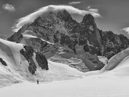 Randonnée raquettes, Chamonix, Aiguilles Rouges