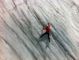 Evolution sur la Mer de glace à Chamonix