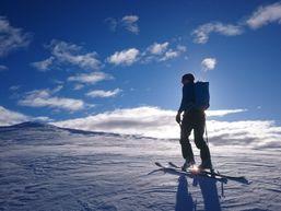 Ski de randonné au Mont Archas dans le Mercantour