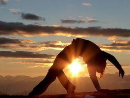 Marche et Yoga Alpes randonnée Charlotte Sigwalt