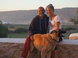 Fayçal, Lisa & doggy Rex
