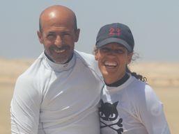 Lisa-K-Moniteur de Surf