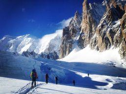 Ski de rando, entre bonne neige et vue splendide