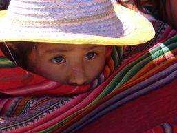 Enfant de la région de Salcantay