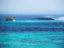 Turquoise water of Lembongan