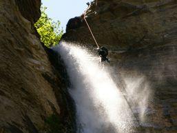 La cascade finale de Sorrosal