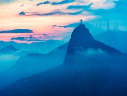 Vue sur le Corcovado - Rio de Janeiro