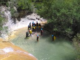 Canyoning au rio Bordonera e Catalogne