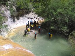 Canyoning au rio Bordonera e Catalogne