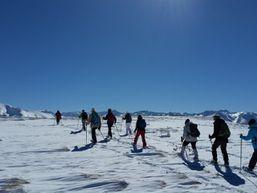 Découverte du Tarbesou en raquettes à neige