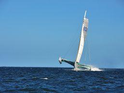 Embraquez à bord de voiliers de course au large