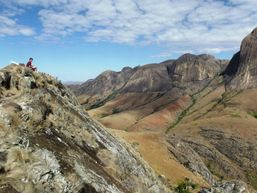 Le sommet du Caméléon Andringitra Madagascar