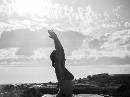 yoga dans les salines