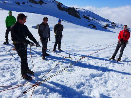 Mouflages, techniques de bases alpi