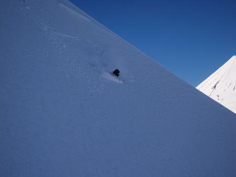 Ski sur les volcans du Chili