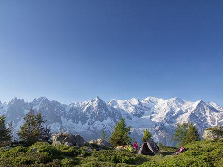 Bivouac dans les Aiguilles Rouges, Chamonix