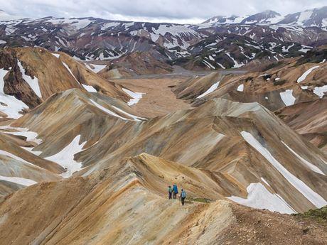Trek en Islande, Landmannalaugar