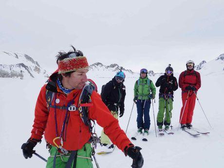 Glacier de Gébroulaz à Val-Thorens