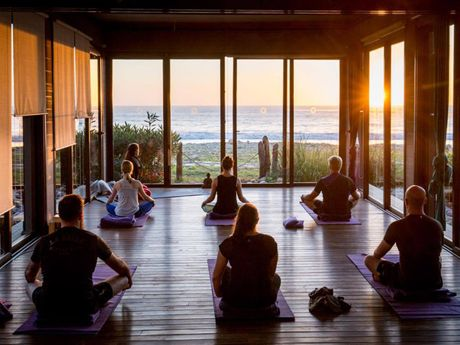 Yoga Randonnée Maroc Charlotte Sigwalt
