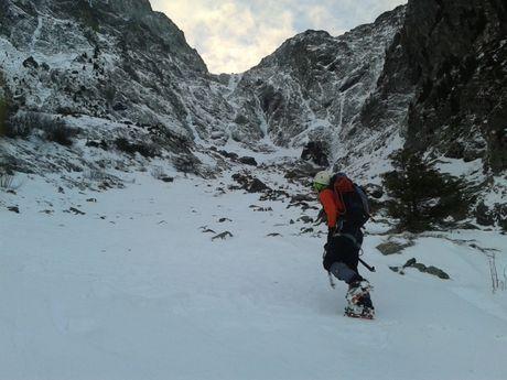 La montagne en hiver et avec piolet au Taillefer