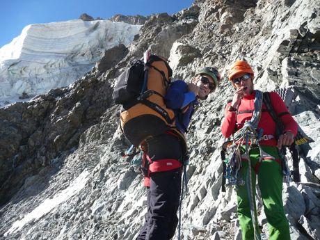 L'alpinisme version écrins, sauvage et solitaire !
