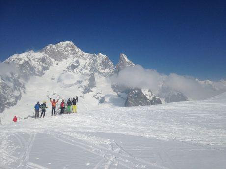 Le plaisir du ski