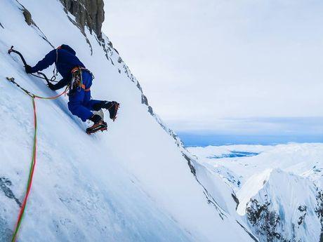 Harvard route, Mt Huntington, Alaska