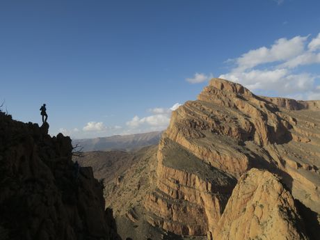 Escalade à Taghia - Maroc