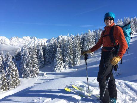 Ski hors-piste en Belledonne