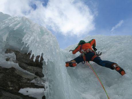 Cascade de glace à Cogne - Italie