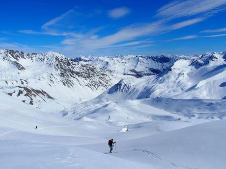 Ski de randonnée dans les Ecrins