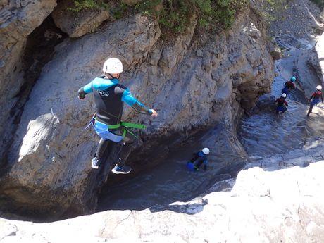 Initiation au canyoning