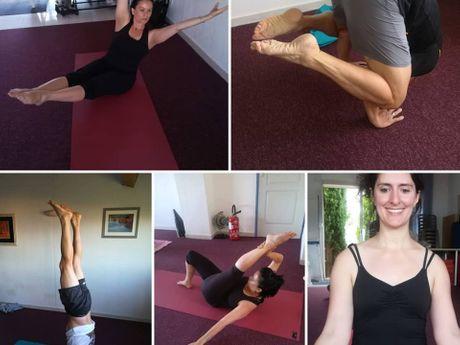 avec Brigitte RIZZO-Professeur de Yoga