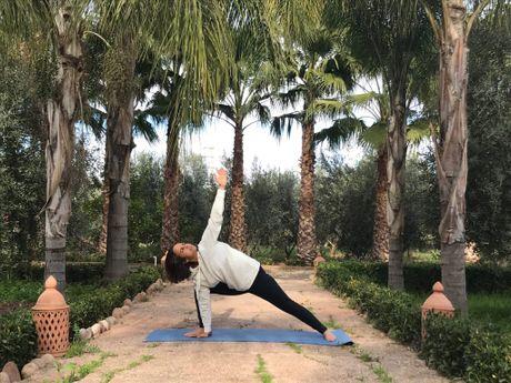 laila-e-Professeur de Yoga