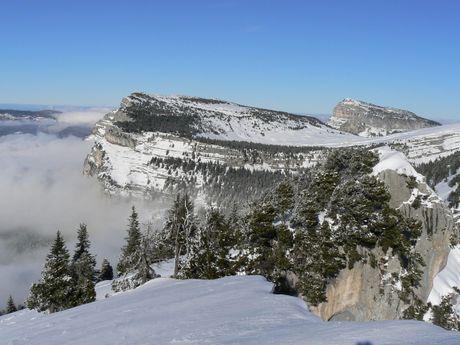 Panorama sur le massif de la Chartreuse