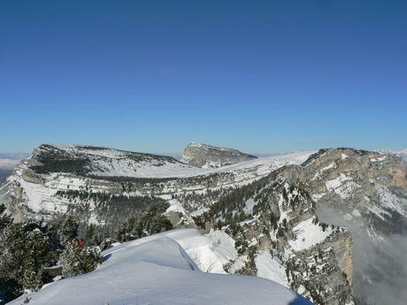 Panorama massif de la Chartreuse