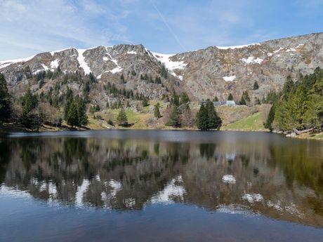 Lac dans le Massif des Vosges