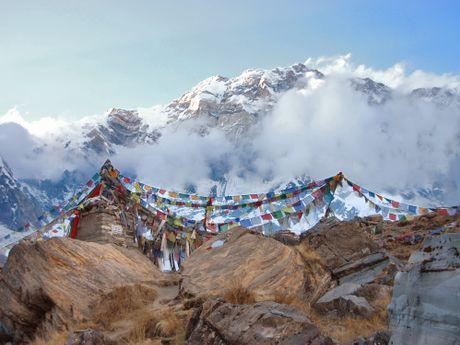 Randonnée dans les montagnes népalaises