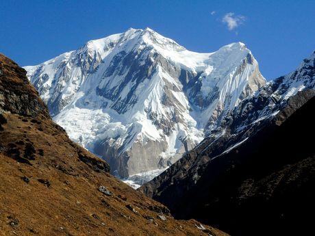 Panorama sur des montagnes népalaises