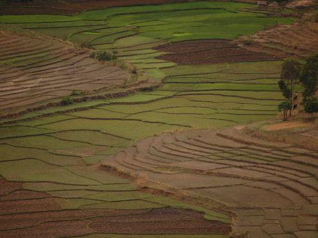 Patchwork de la région d'Ambalavao