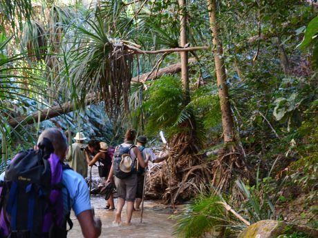 Exploration de la région de Manapanda