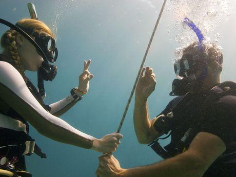communication sous l'eau